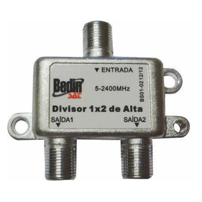 Divisor 1x2 BedinSat 2-2400Mhz