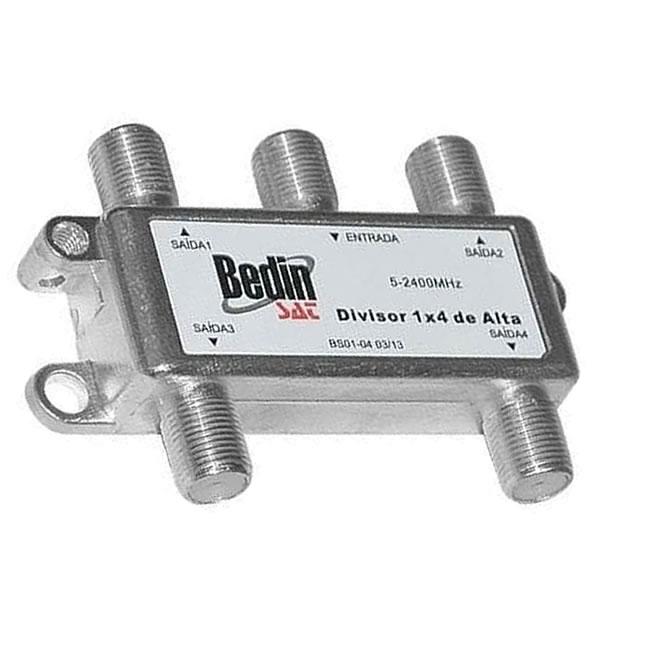 Divisor 1x4 BedinSat 2-2400Mhz